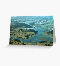 Okavango  Greeting Card
