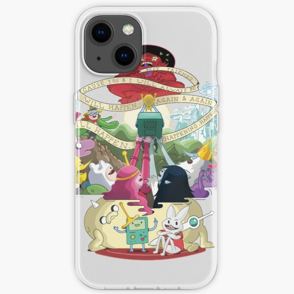 Come along with me - Adventure Time iPhone Soft Case