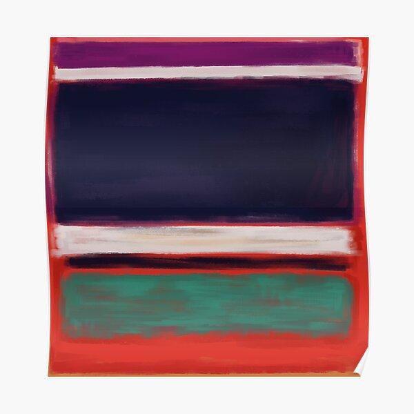 Rothko Inspired #12 Poster