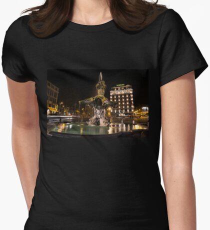 Rome's Fabulous Fountains - Bernini's Fontana del Tritone T-Shirt