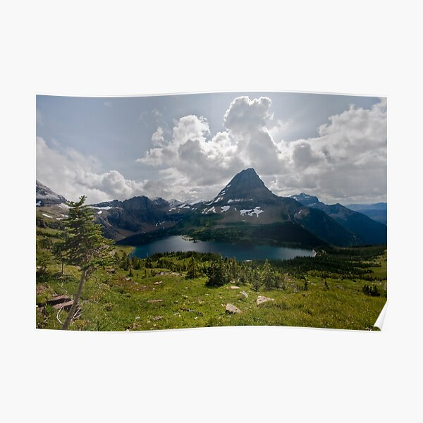 Hidden Lake - Glacier National Park Poster