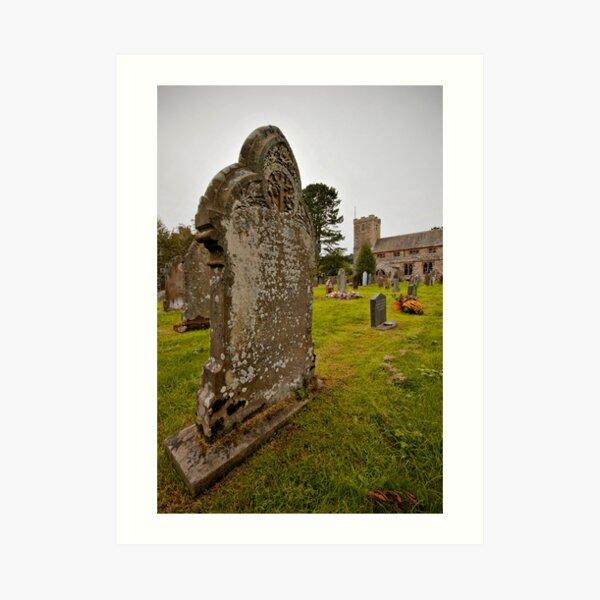 Graveyard - Lake District Art Print