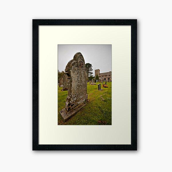 Graveyard - Lake District Framed Art Print
