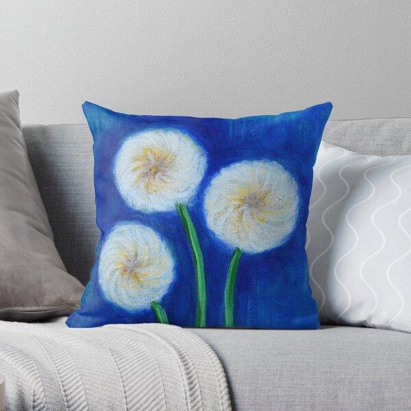 Dandelions Throw Pillow