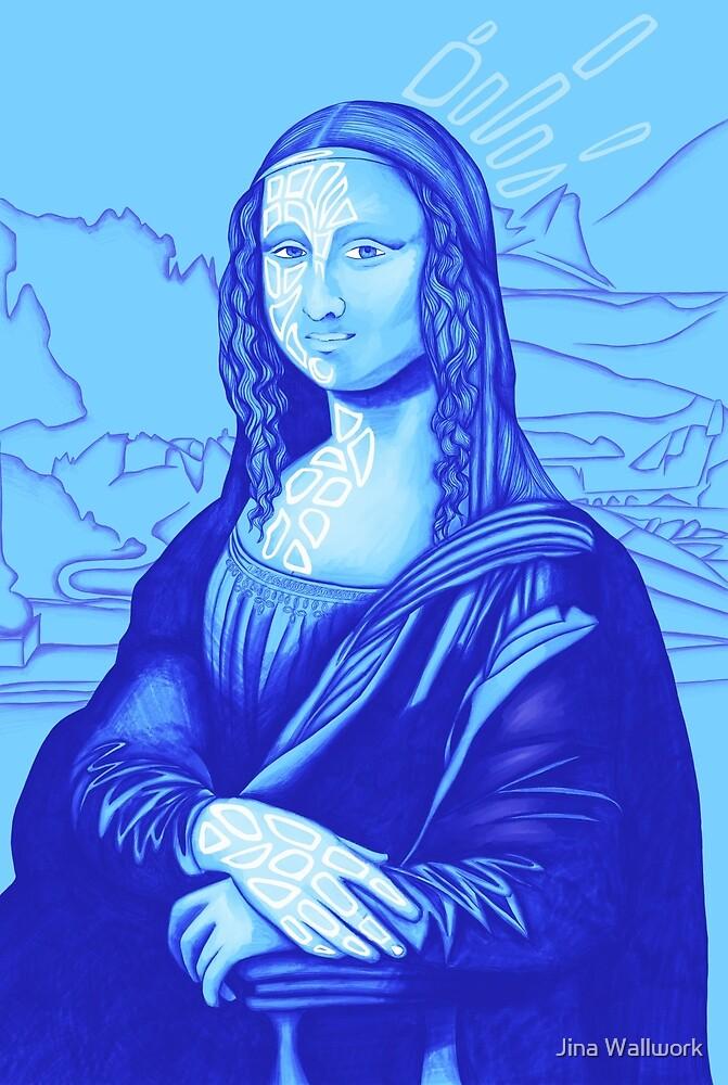 Mona Lisa 7 by Jina Wallwork