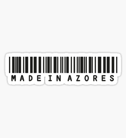 Made in Azores Sticker