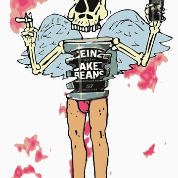 tinrib skeleton binge drink smoker by tombowombo