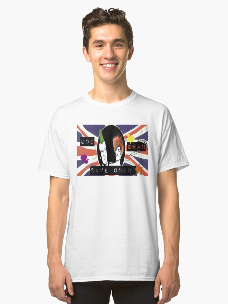God Save One's Grandma Classic T-Shirt Front