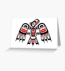 First Nations' Eagle Greeting Card