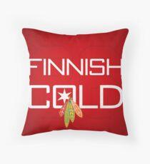 Finnish Cold Throw Pillow