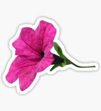 DARK PINK FLOWER Sticker