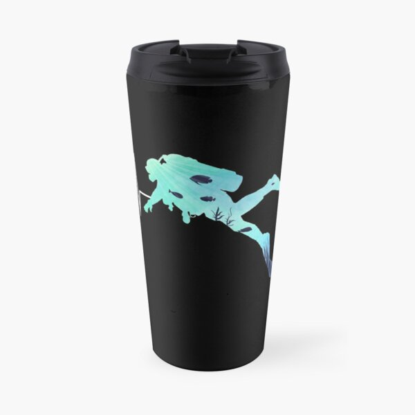 Scuba Diving Heart Beat - Best Gift for Diver Travel Mug