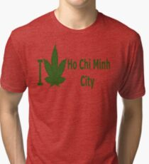 0050 I Love Ho Chi Minh City Tri-blend T-Shirt