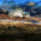 Clouds on the hollow Mountain. by Ken Simm
