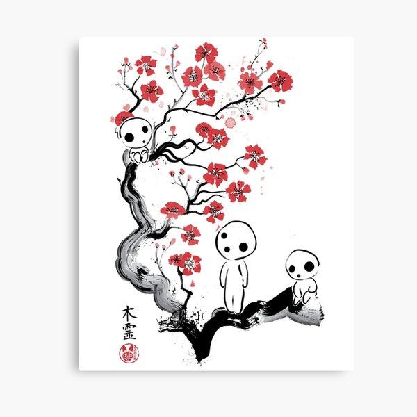 Little Forest Spirits Canvas Print