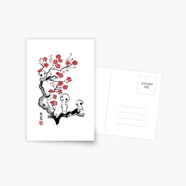 Little Forest Spirits Postcard