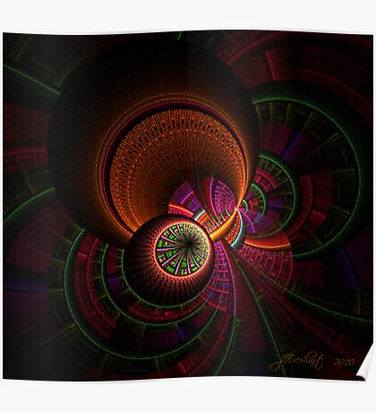 Apophysis Space Travel Poster