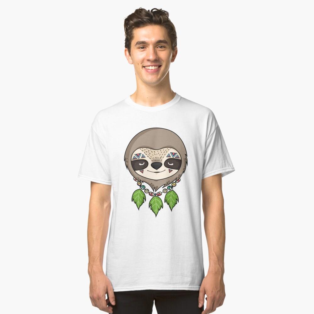 Sloth Head Classic T-Shirt Front
