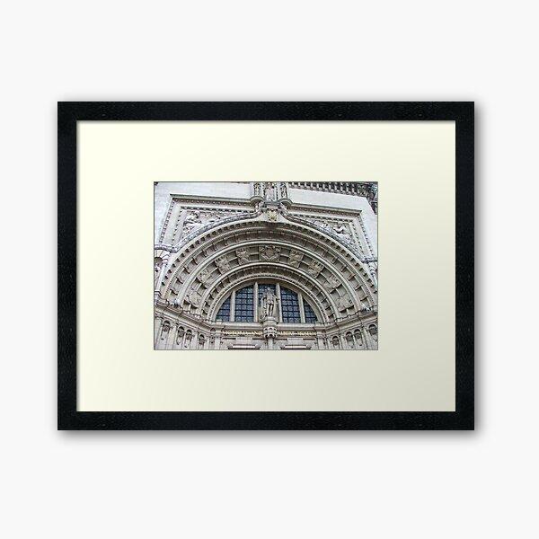 Victoria And Albert Museum Framed Art Print