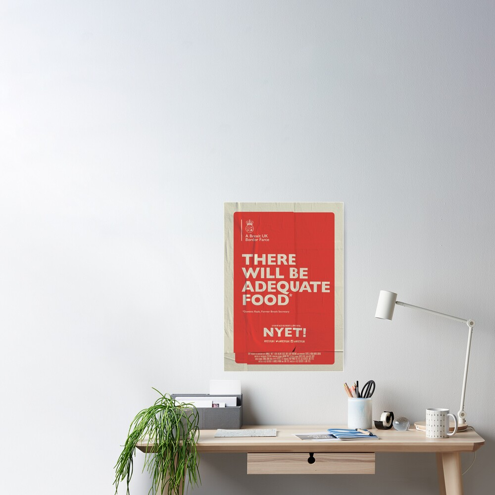 Adequate Food Poster Poster