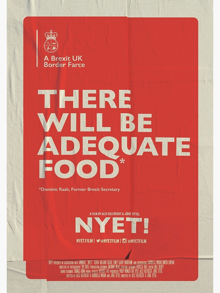 Adequate Food Poster by nyetfilm