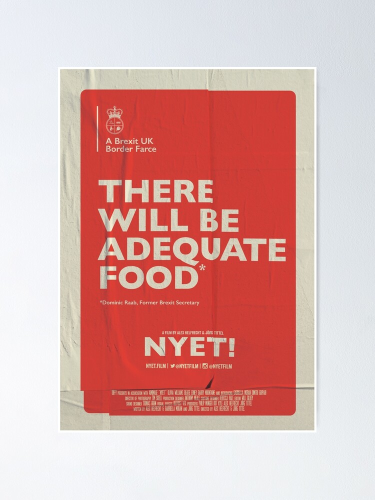 Alternate view of Adequate Food Poster Poster