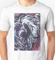 Chinese Crested Dog Bright colorful pop dog art Unisex T-Shirt
