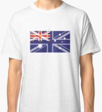 Australian UK Flag Immigration Nationality Design Classic T-Shirt