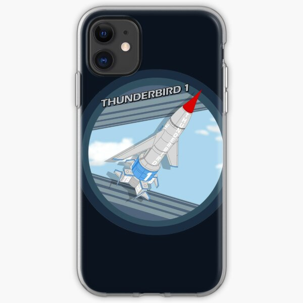 Thunderbird 1 badge iPhone Soft Case