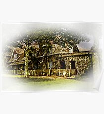 Cottage at Cotehele Poster