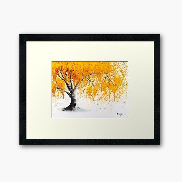 Rusty Desert Tree Framed Art Print