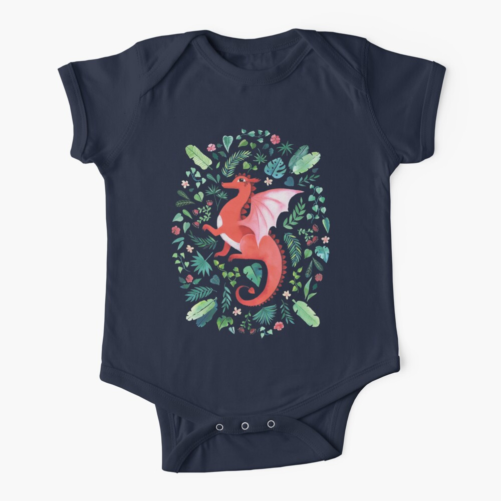 Tropical Dragon Baby One-Piece