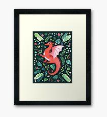 Tropical Dragon Framed Print