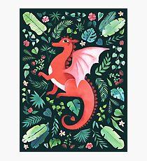 Tropical Dragon Photographic Print