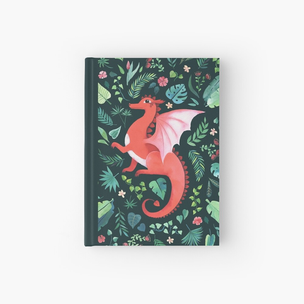 Tropical Dragon Hardcover Journal