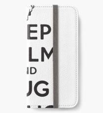 hug a pug iPhone Wallet/Case/Skin