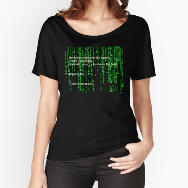 The Matrix: There is no spoon Relaxed Fit T-Shirt