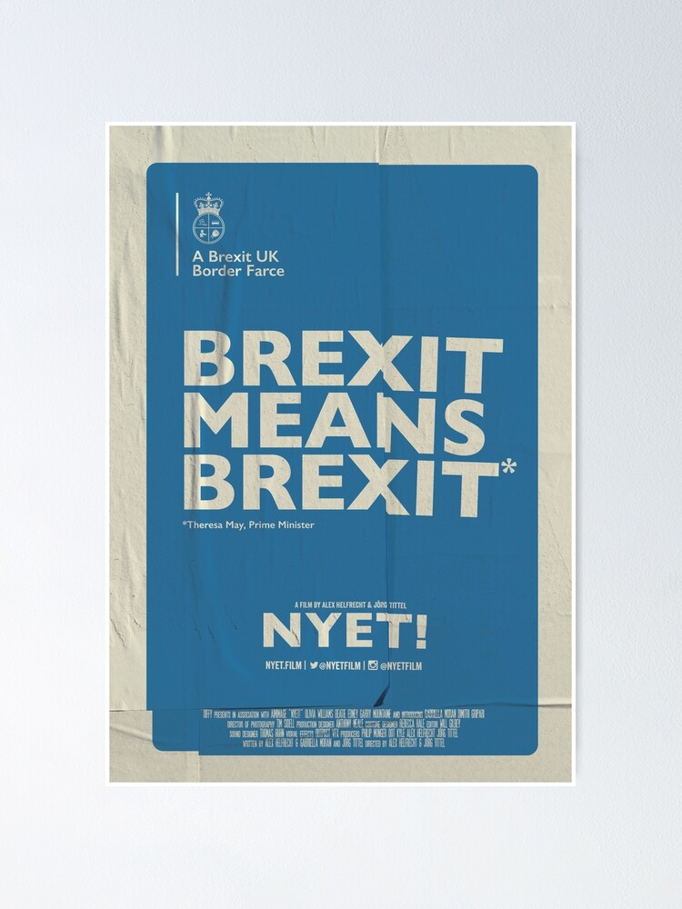 Alternate view of Brexit Poster  Poster