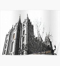 Salt Lake Temple ~ Salt Lake City, Utah Poster