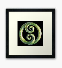 New Zealand Kiwi Pride Koru Framed Print
