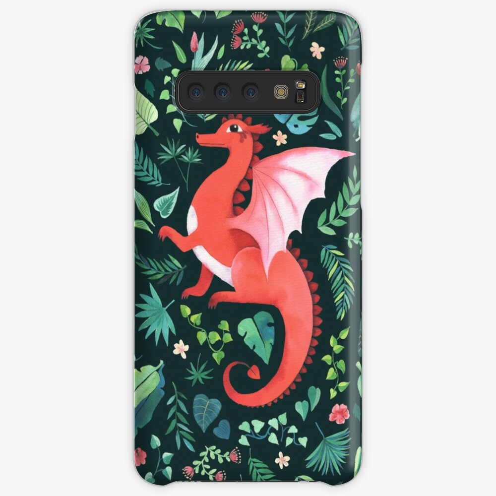 Tropical Dragon Cases & Skins for Samsung Galaxy