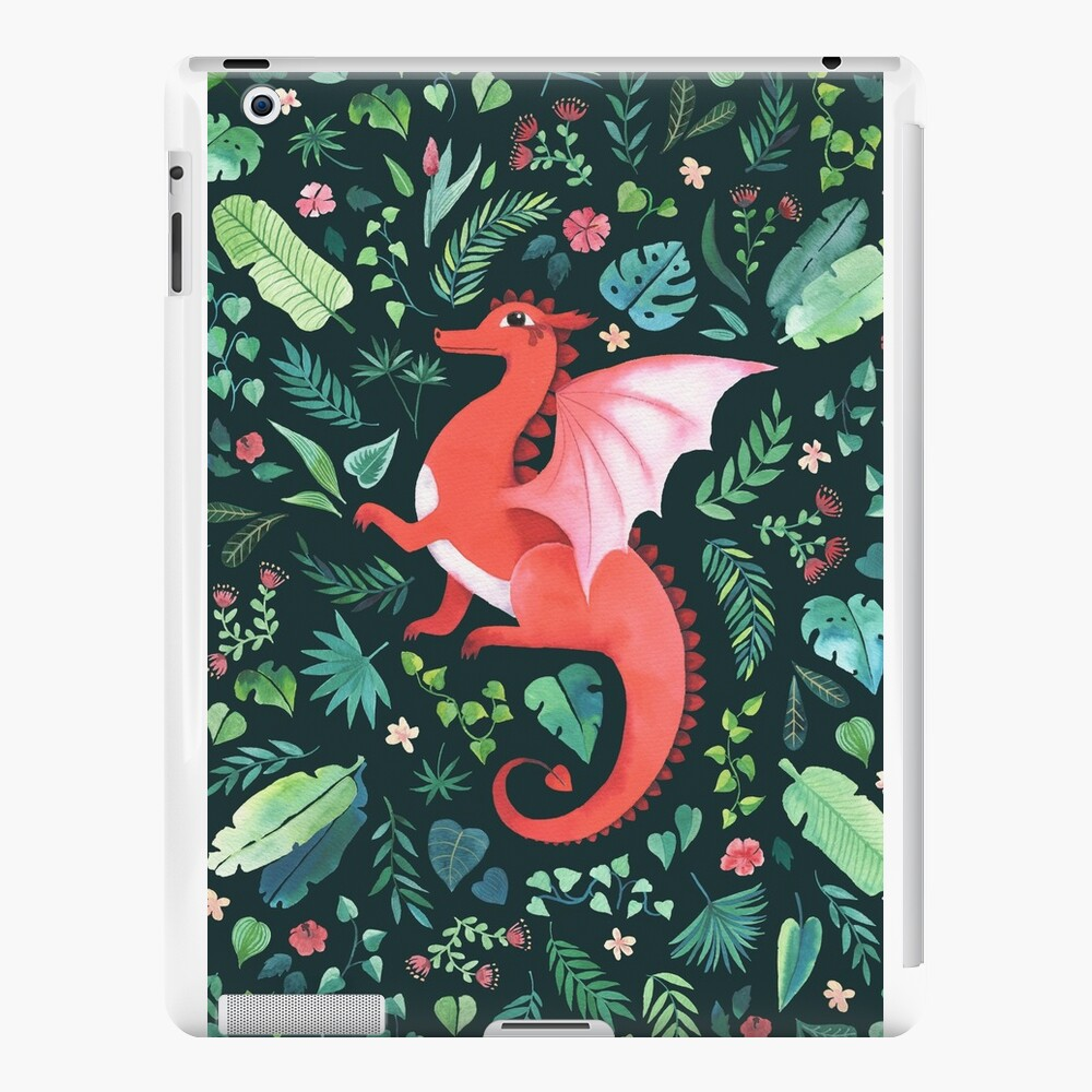 Tropical Dragon iPad Cases & Skins