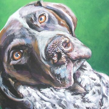 German Shorthaired Pointer Fine Art Painting by lashepard