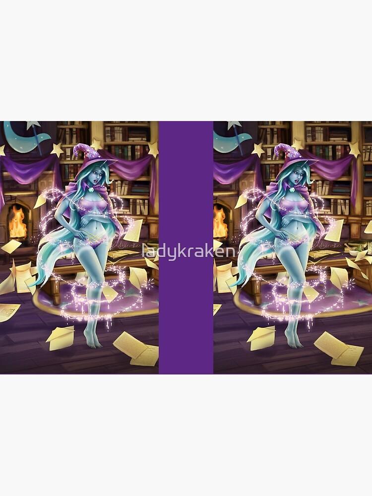 Library Trick by ladykraken