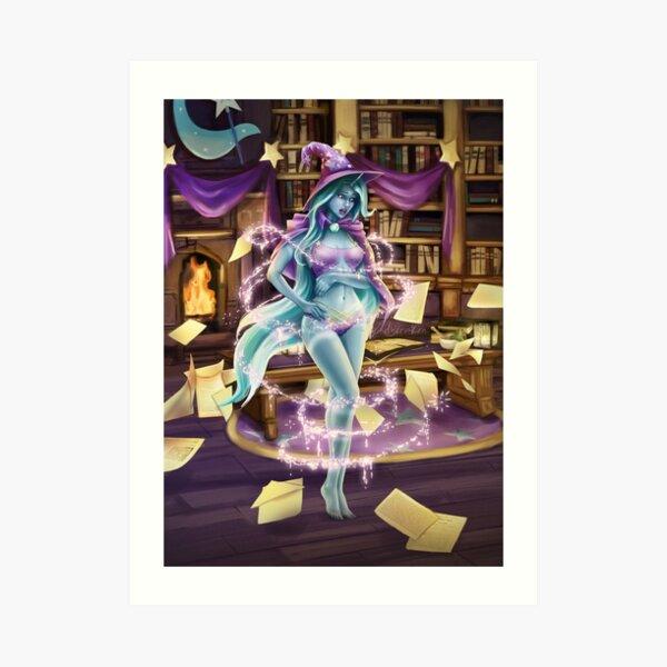 Library Trick Art Print