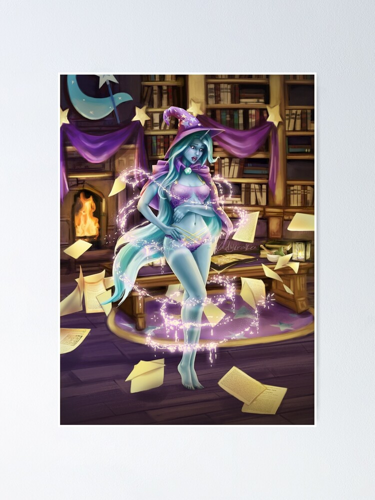 Alternate view of Library Trick Poster