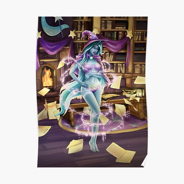 Library Trick Poster