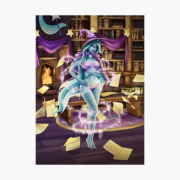 Library Trick Photographic Print
