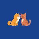 Cats & Dogs Love by BekkaCampbell