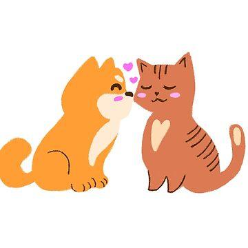 Katzen & Hunde lieben von BekkaCampbell